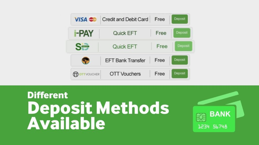 How to deposit using the App Betway
